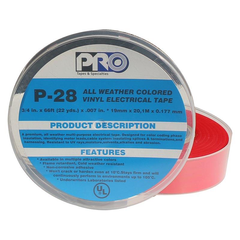 Retail Pack Olive Drab 25mm X 5.4m Pro Gaff Matt Cloth Tape